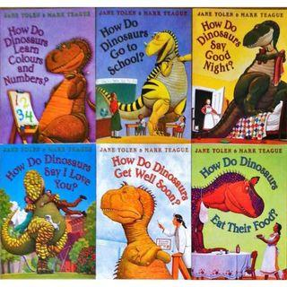 How Do Dinosaurs Collection (6 Books)