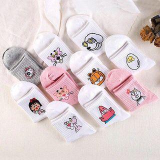 Cartoon socks tumblr - $7 each