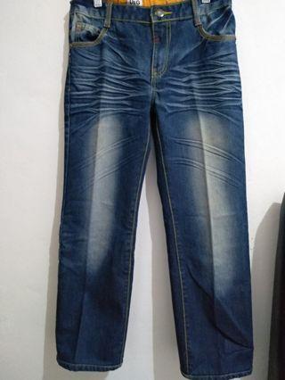 Celana jeans kid navy