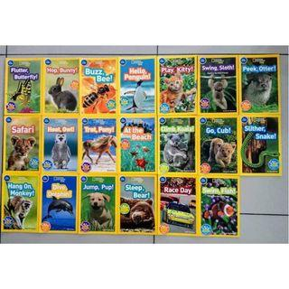 National Geographic Kids Pre-reader (20 books)