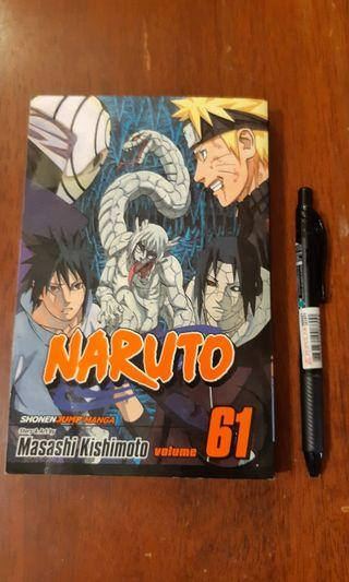 Naruto English Comic Book