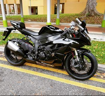 2011 Kawasaki zx6r
