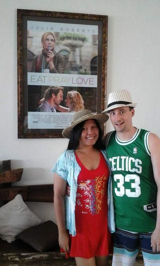 #mauthr Red Bali Girl Dress