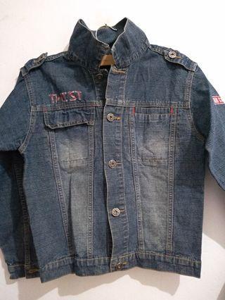 Jaket Jeans kid black