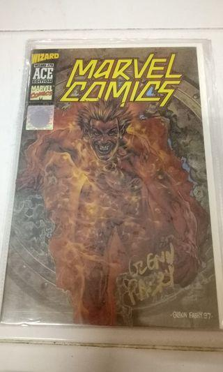 MARVEL COMICS WIZARD AUTHENTIC ACE EDITION