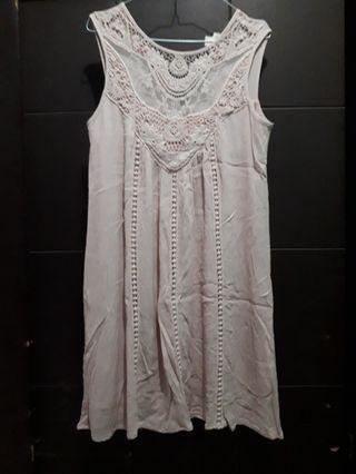 Pinkish Dress HARGA PAS