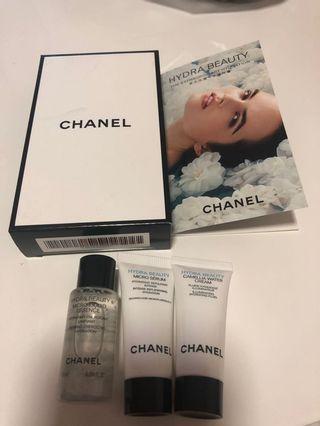 Chanel 山茶花保濕三件體驗裝 內含新出既面霜