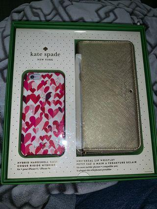 Kate spade wallet and phone case