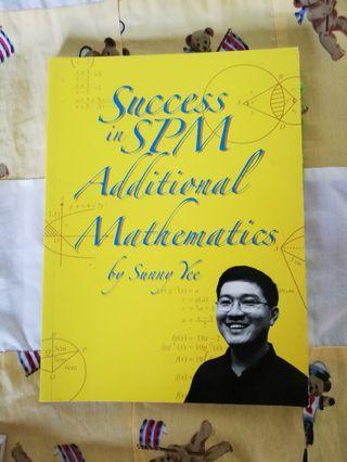 SPM ADDITIONAL MATHEMATICS