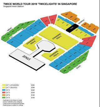 Twice Twicelight Concert Tickets 2019 Standing Pen A