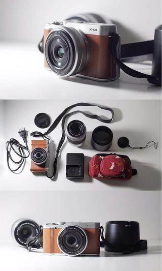 Fujifilm xm 1 dgn 2 lensa