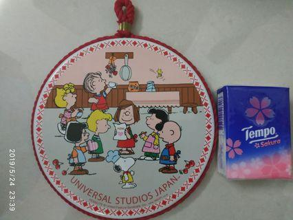 Charlie Brown & Family 瓷器 煲墊