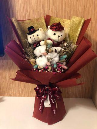Wedding Bear Bouquet