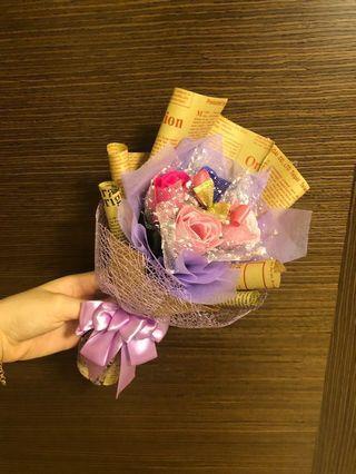 Soap Rose Bouquet