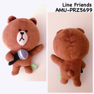 (包郵) Line Friends 20cm 景品 (no tag)