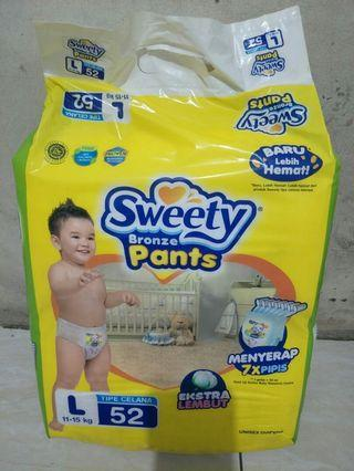 Diapers sweety bronze