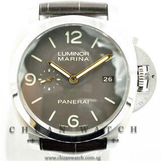 Pre-Owned Panerai Luminor 1950 3-Days Titanio 44mm Pam 351 O - Discontinued