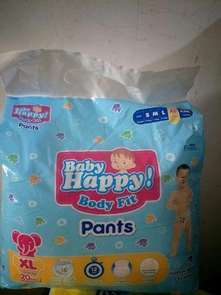 Diapers baby happy uk. XL