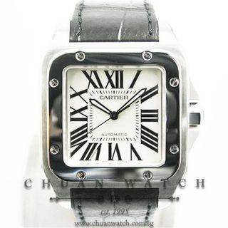 Pre-Owned Cartier Santos 100 XL W20073X8 - Discontinued