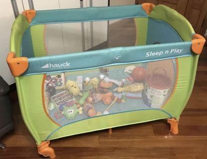 兒童遊戲床