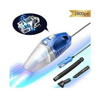 E501 EZfull Car Vacuum Cleaner Wet&Dry Handheld Portable Mini Automotive/Auto Vacuums DC 12V with 16.4ft(5m) Power Cord (Blue)