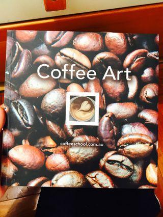 咖啡拉花書籍Coffee Art+VCD (澳洲買入)