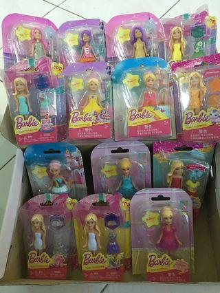 Set of Barbie (All in one price)