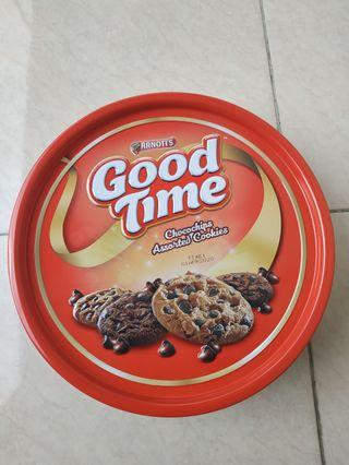 Good Time arnotts chocochips assorted cookies 277gr Large