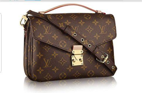 Full Leather Copy Ori Louis Vuitton Sling Bag