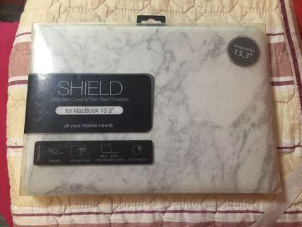 """Macbook pro cover 13 """" ( Marble Grey )"""
