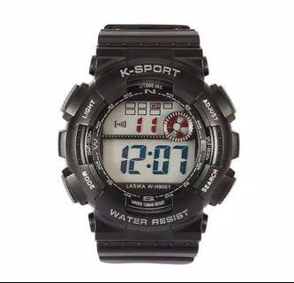 Jam Tangan Casual Sport LED Man