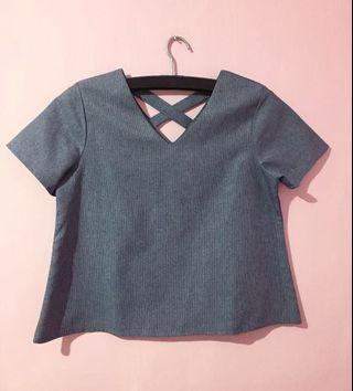 Blue Top By This Is April