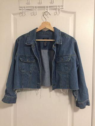 Cropped thin jeans jacket
