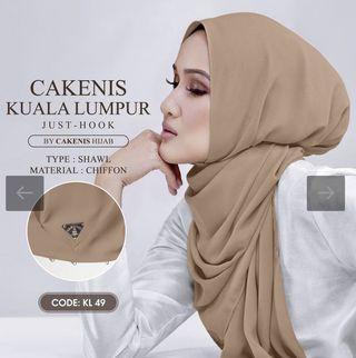 Cakenis KL Collection Chiffon Shawl