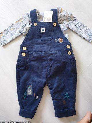 🚚 BN Mothercare Romper (NB up to 1mo)