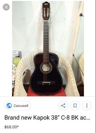 Kapok Guitar (Acoustic) Beautiful sound