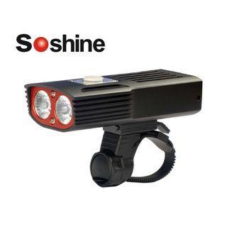 {MPower} Soshine TB1 USB 充電 Cree XM-L2 LED 2400流明 Bicycle Light 單車燈 車頭燈 電筒 (內置充電池) - 原裝行貨