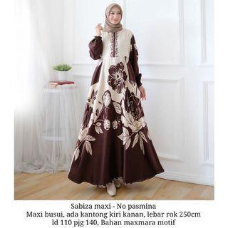 Muslim Dress flowery motif