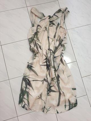 Floral Dress cut level