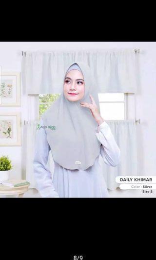 Bergo Daily khimar by Alya hijab