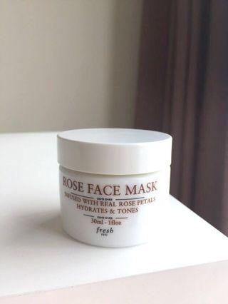 Rose face mask #mauthr