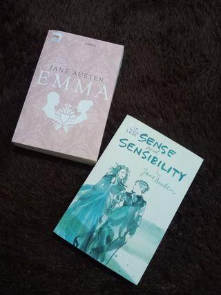BUY 1 GET 1: JANE AUSTEN - EMMA & SENSE AND SENSIBILITY