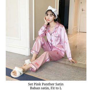Set pink panther pyjamas woman