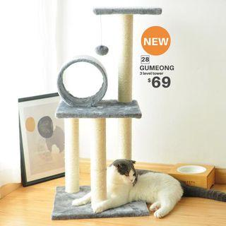 【BRAND NEW/INSTOCK】GUMEONG 3 level tower