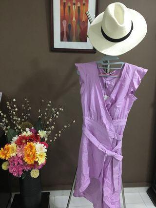 🚚 Lilac Wrap Dress