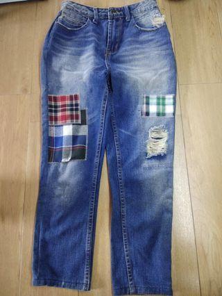 Celana Ripped Jeans ( Celana Jeans Bangkok )