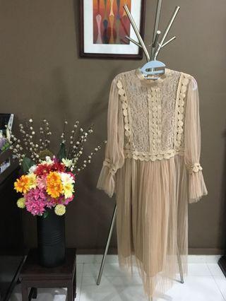 🚚 Korean Style Lace Dress