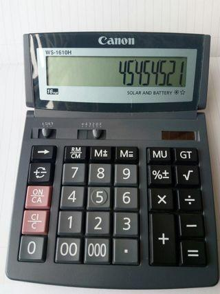 Canon Calculator  ws-1610h