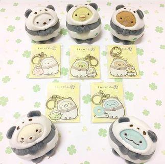 日本限定 角落生物 sumikko 東京上野限定 熊貓 手玉 訂購