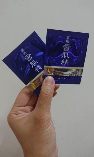 Kose雪肌精 sample